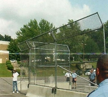 Security Fence suits military applications.