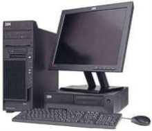 Computer Workstations feature 3.4 GHz processor.