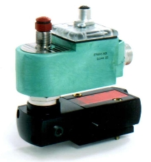 Solenoid Valves operate low-power pilot valves.