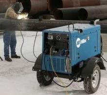 Welding Generator offers multiprocess welding ouput.