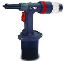 Power Riveter features ergonomic design.