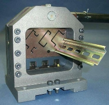 Bench-Mount Cutter cuts all types of DIN rail.