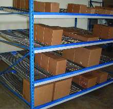 Material Handling System suits carton flow applications.