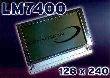 LCD Display offers text and graphics capabilities.