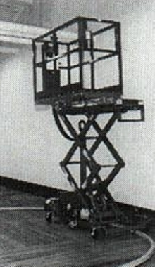 Scissor Lift is for low volume paint operations.