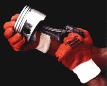 Gloves provide cool alternative for hand protection.