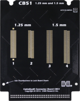 CB51 Boards for CableEye surface mount and TH connectors.