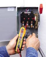 IDEAL Vol-Con Elite Voltage/Continuity Tester Combines Accuracy of Digital Circuitry with Solenoid Vibration Mode