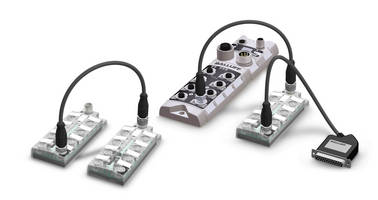 More Efficiency and Flexibility Io-link Sensor/actuator Hub with Expansion Port