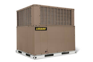 New ENERGY STAR® Certified 16 SEER Systems Broaden Luxaire® LX Series Package Equipment Line