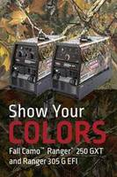 Lincoln Electric Offers Limited Time Fall Camo Ranger Graphics on Two Engine-Driven Welders