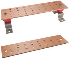 ILSCO Copper Bus Bar offers multiple connection points.
