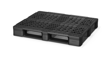 Eco US5 Plastic Pallet offered in different proprietary material compositions.