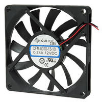 CFM series Dc Fan Line offers pressure values of 2.79 to 19.8 mm H2O.