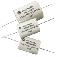 744B Series Combination Film Capacitors comes with standard tin coating.