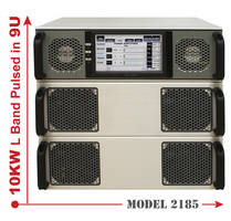 Model 2185 High Power Pulsed Amplifier with superior SWaP.