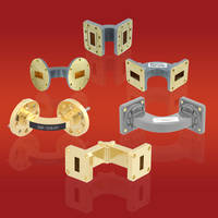 Fairview's Waveguide Bends come in CPR-style flange or a UG-style flange.