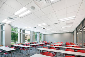ROCKFON Ceiling Systems Contribute to Education Spaces and a Better Way to Learn