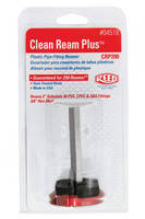 Clean Ream Plus Plastic Pipe Fitting Reamer guarantees 250 or more reams.