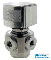 MBV4P-1414-3 Ball Valve comes with corrosion resistant 303 stainless steel.