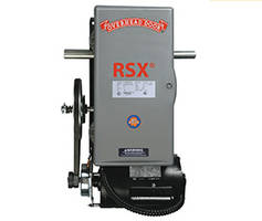 RSX Fire Door Operator with 24-hour battery backup.