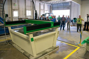 Missouri University of Science & Technology Wins WARDJet Waterjet at IMTS Tradeshow