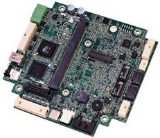 PX1-C415 Single Board Computer features dual video interfaces.