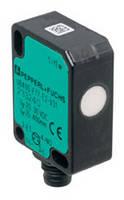 Miniaturized Ultrasonic Sensors has 4-pin Nano-style M8 connector.