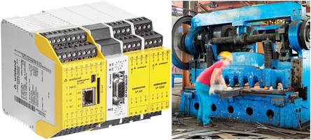 Wieland Electric Expands samos®PRO COMPACT-PLUS Safety Control Module Capabilities with Industrial Press Function & Support for Multiple Fieldbus Protocols