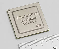 SC2A11A SOC incorporates 24 cores of power-efficient ARM Cortex-A53.