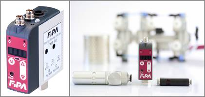 EMA Series Compact Ejector operates in temperature ranges of 10