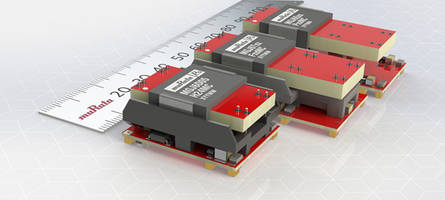 6 W high isolation DC-DC Converters support insulation to UL60950.