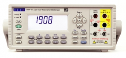 1908 and 1908P Digital Multimeters provide up to 0.01Hz resolution.