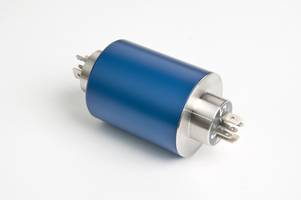 SC040 Slip Ring features steel bearings.
