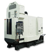 Kiwa Triple H40 Horizontal Machining Center is automatic tool changer.