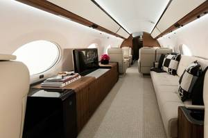 Gulfstream to Showcase Four-Living-Area G650ER at MEBAA 2016