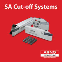SA Grooving Systems enables combined operation with one tool.