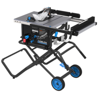 36-6022 Ten-inch Portable Table Saw features 2.5 in. dust port.