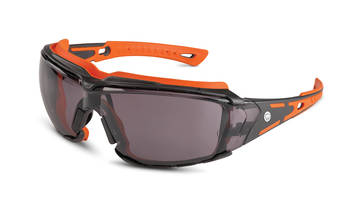 Orange Crush Goggles feature super-flex temples.