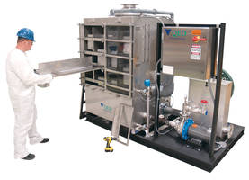 E-Z Tray Air Stripper provides easy inspection and maintenance.