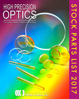 Precision Optics Overstock List Has Variety of Sapphire and Exotic Parts