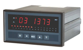 PMD-MXT Temperature Scanner Indicators are powered by 20 to 28 VDC.