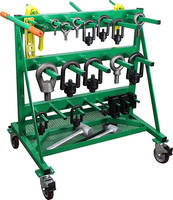 IMS Select Hoist Ring Rack is double sided.