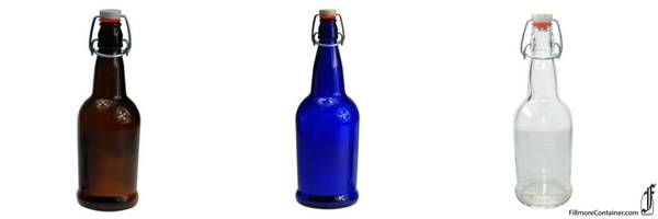 EZ-Cap Swing Bottles feature smooth sides.