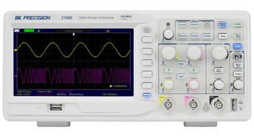 2190E Digital Storage Oscilloscope features waveform recorder.