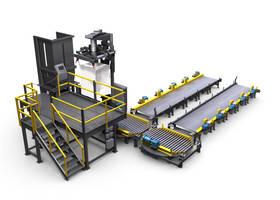 Bulk Bag Filling System processes 90,000lbs dry bulk material per hour.