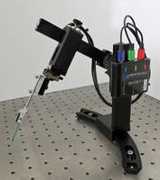 Multi-Probe Micromanipulator features optional joystick control.