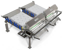 Veo Sorters feature integrated Iso-Flo® vibratory infeed.