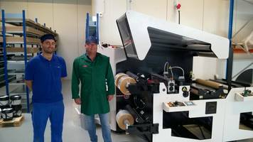 Rotoflex VLI 600 Outperforms at Dan Labels in Denmark
