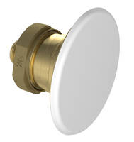 Flat Plate Horizontal Sidewall Sprinkler covers an area up to 16 x 20 ft.